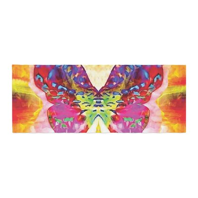 Anne LaBrie Butterfly Spirit Bed Runner