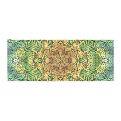 Art Love Passion Celtic Flower Geometric Bed Runner