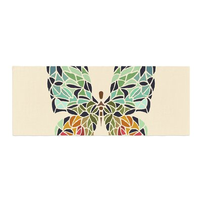 Art Love Passion Butterfly Bed Runner