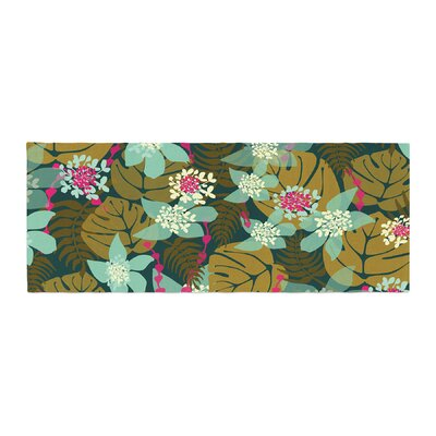 Amy Reber Tropical Tropical Floral Bed Runner