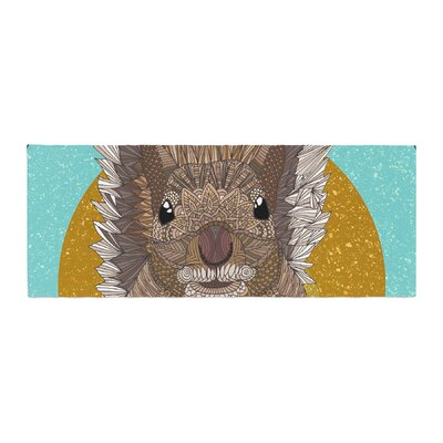 Art Love Passion Squirrel Bed Runner