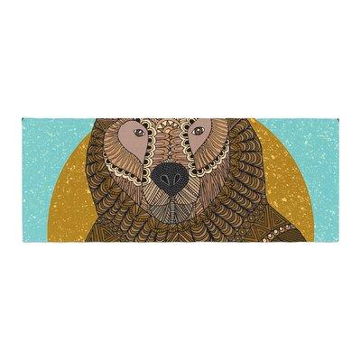 Art Love Passion Bear in Grass Bed Runner