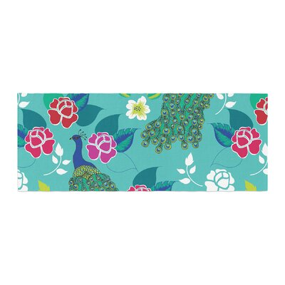 Anneline Sophia Mexican Peacock Bed Runner