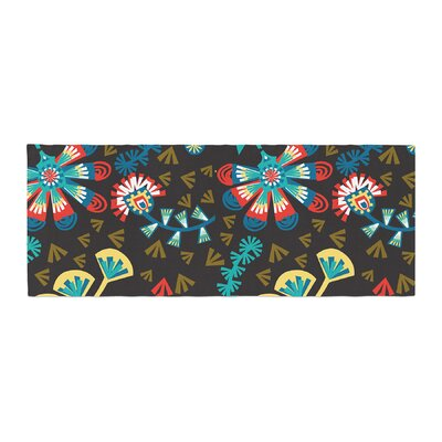 Agnes Schugardt Wycinanka Abstract Bed Runner