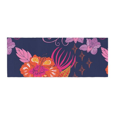 Anneline Sophia Tropical Paradise Floral Bed Runner