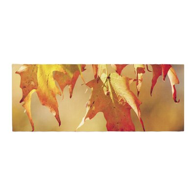 Angie Turner Autumn Leaves Vibrant Bed Runner