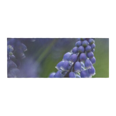 Angie Turner Grape Hyacinth Bed Runner