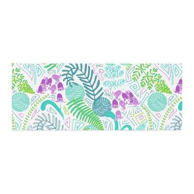 Anneline Sophia Fern Forest Bed Runner