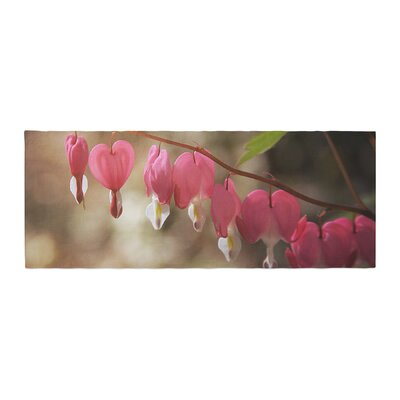Angie Turner Bleeding Hearts Flower Bed Runner
