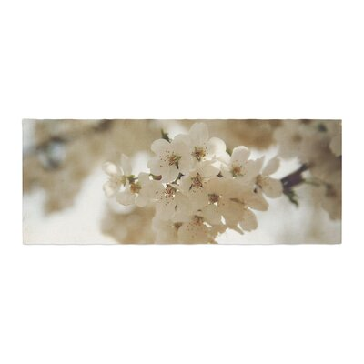 Angie Turner Flowering Pear Petals Bed Runner