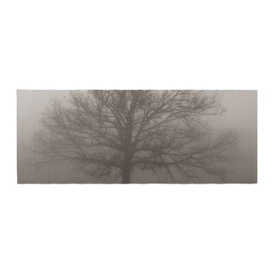 Angie Turner Lonely Tree Fog Bed Runner