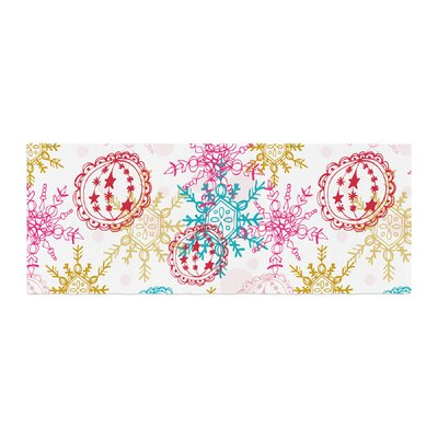 Anneline Sophia Let It Snow Bed Runner