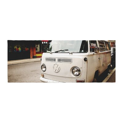 Angie Turner VW Bus Vintage Bed Runner