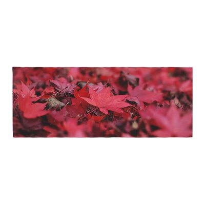 Angie Turner Leaves Leaf Bed Runner