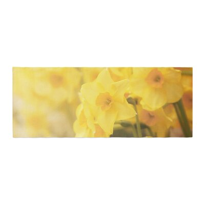 Angie Turner Dreamy Daffodils Nature Bed Runner