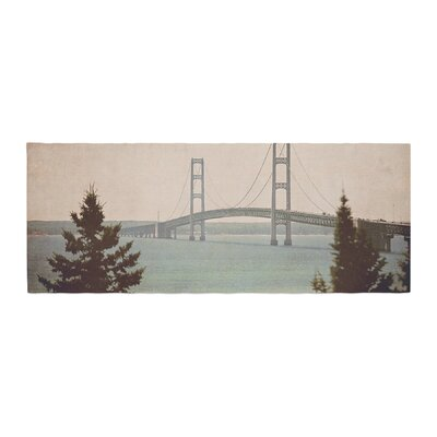 Angie Turner Mackinac Bridge Travel Bed Runner