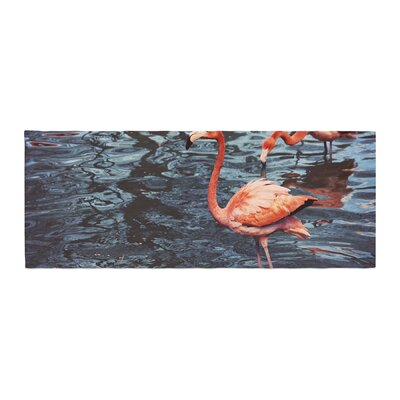 Angie Turner Flamingo Animals Bed Runner