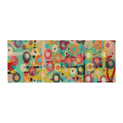 Bri Buckley Gift Wrapped Crazy Abstract Bed Runner
