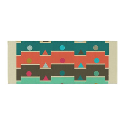 Bri Buckley Modern Graphics Geometry Bed Runner