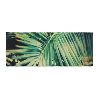 Angie Turner Palm Frond Nature Bed Runner