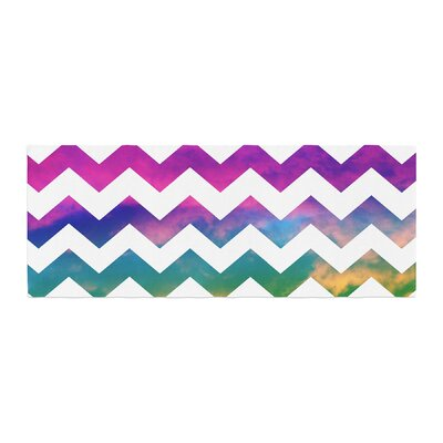 Beth Engel Lucky Chevron Bed Runner