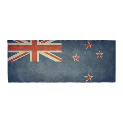Bruce Stanfield Flag of New Zealand Bed Runner