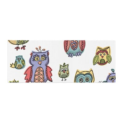 Brienne Jepkema Owls Bed Runner
