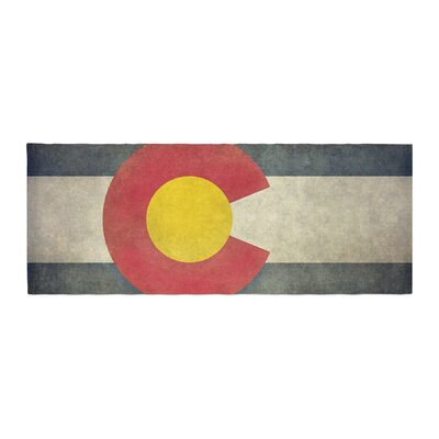 Bruce Stanfield State Flag of Colorado Bed Runner