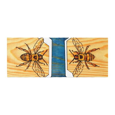 Brittany Guarino Bees Bed Runner