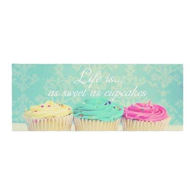 Beth Engel Life Is As Sweet As Cupcakes Bed Runner