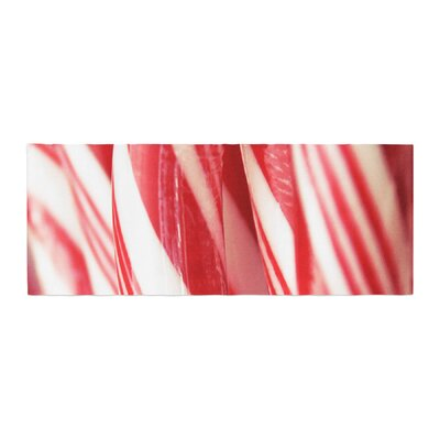 Beth Engel The Painted Forest Candy Cane Bed Runner