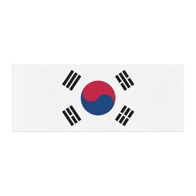 Bruce Stanfield Flag of Korea Digital Bed Runner