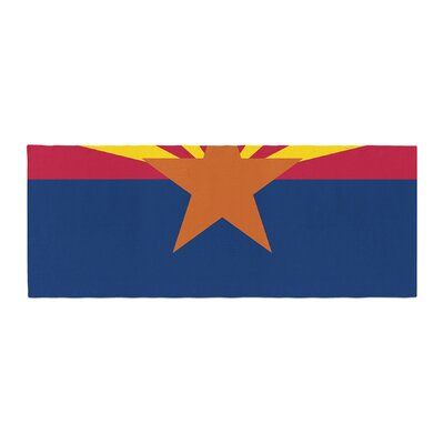 Bruce Stanfield Flag of Arizona Bed Runner