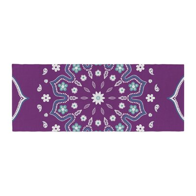 Cristina Bianco Design Mandala Illustration Bed Runner