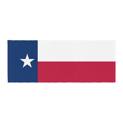 Bruce Stanfield Flag of Texas Bed Runner