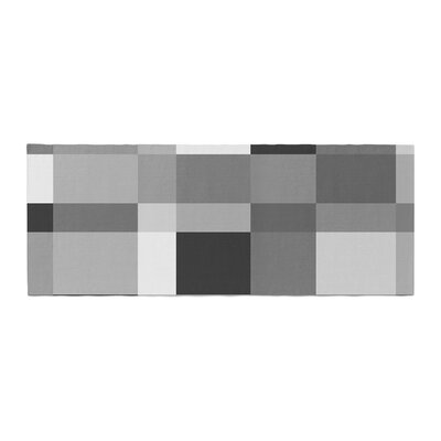 Bruce Stanfield Monotones Cubed Digital Bed Runner