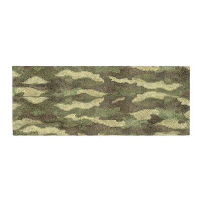 Bruce Stanfield Dirty Camo Bed Runner