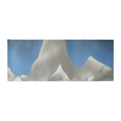 Bruce Stanfield Snowy Mountains Painting Bed Runner