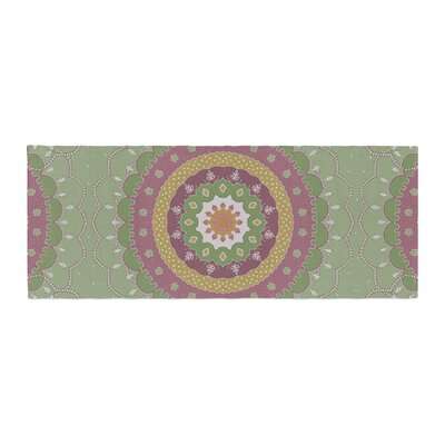 Cristina Bianco Design Mandala Design Illustration Bed Runner