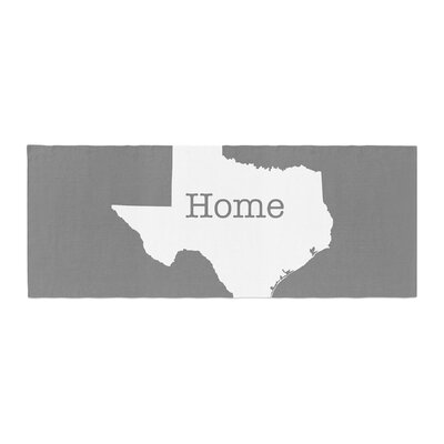 Bruce Stanfield Texas Is Home Bed Runner