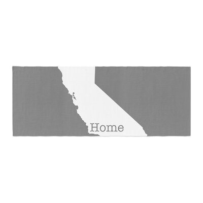 Bruce Stanfield California Is Home Bed Runner
