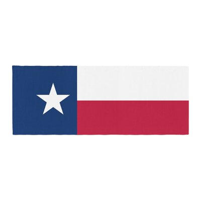 Bruce Stanfield Texas Flag Bed Runner