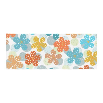 Cristina Bianco Design Floral - Pattern Illustration Bed Runner