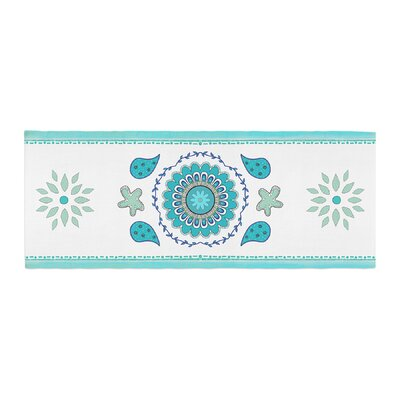 Cristina Bianco Design Mandala Design Painting Bed Runner