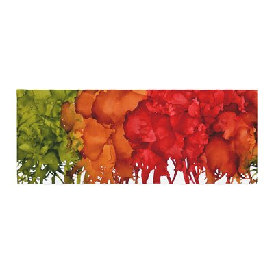 Claire Day Fall Splatter Bed Runner