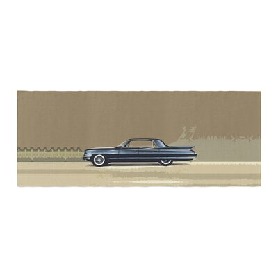 Bruce Stanfield Cadillac Fleetwood 1961 Olive Digital Bed Runner