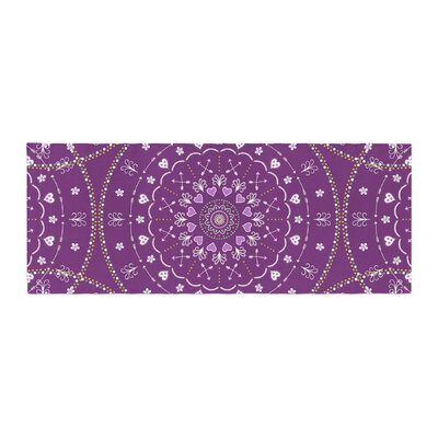 Cristina bianco Design Mandalas Geometric Bed Runner