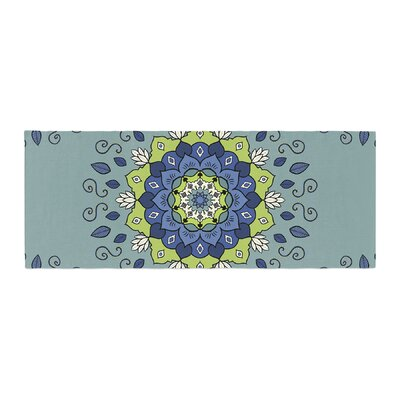 Cristina bianco Design Mandala Geometric Bed Runner
