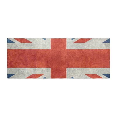 Bruce Stanfield UK Union Jack Flag Bed Runner