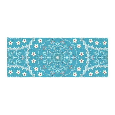 Cristina bianco Design Mandala Floral Bed Runner